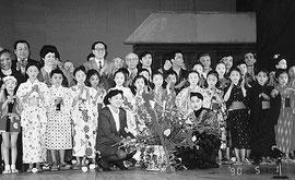 大連の子ども達も出演した「無法松の一生」公演