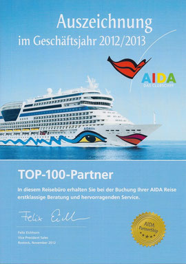 Top 100 Partner 2012/2013