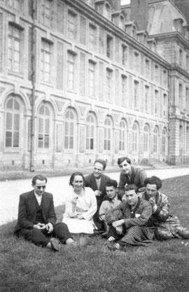 G. Litaize au château de Fontainebleau (concours du prix de Rome)