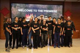 4.12.2018: Filmworkshop-Präsentation - Jinan