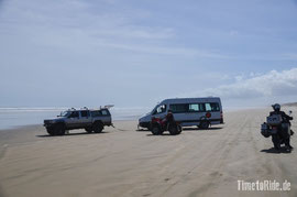 Neuseeland - Motorrad - Reise - Ninety Mile Beach
