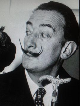 Retrato Dalí