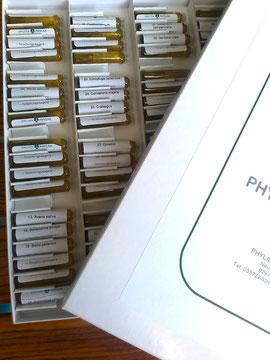Test-Set der 100 spagyrischen Essenzen von Phylak.de
