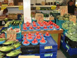 くじゅうトマト。安くて新鮮です。
