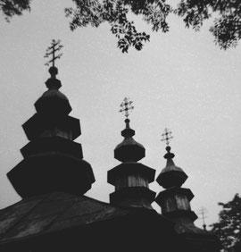 Cerkiew w Komańczy. Fot. Dominik Księski