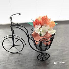 チューリップの花束 つまみ細工nijiiroya