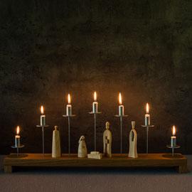 Brettl, Moderner Lichterbogen, moderner Schwibbogen, zeitgemäß, puristisch, handwerk, moderne Pyramide, modern christmas , Erzgebirge, Volkskunst