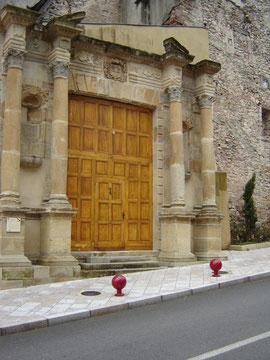 portail du couvent des Ursulines