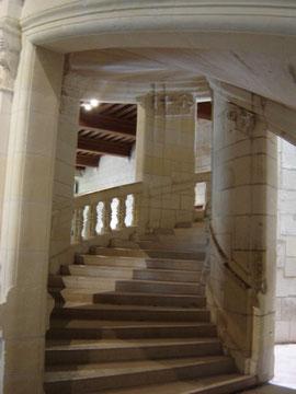 l'escalier à double révolution