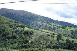 montée vers le col d'Izpegui