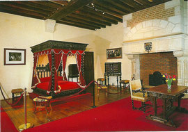 Chambre où mourut Léonard de Vincy