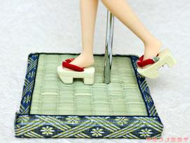 リカちゃん 下駄,人形 靴,Doll geta