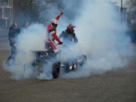 Klick das Bild an.Quad-Stunt-&Freestyle-Show mit Uwe Naumann&Rene Großmann