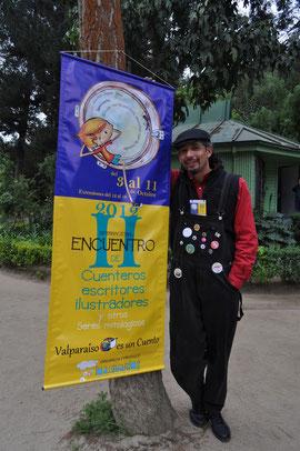 Cuentos en el Bosque Encantado en la edición Valparaíso es un cuento 2012