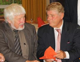 Die Kreisvorsitzenden Hans-Volker Feldmann (Otterndorf) und Albrecht Harten (Cuxhaven)
