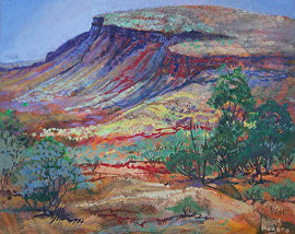 Acrylic painting The pilbara