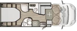 Grundriss Mobilvetta K-Silver 54