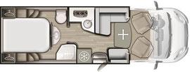 Grundriss Mobilvetta K-Silver 58