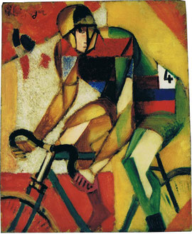 """Jean Metzinger """"Coureur Cycliste"""" 1912"""