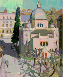 Albert Marquet, La Synagoge 1936/37