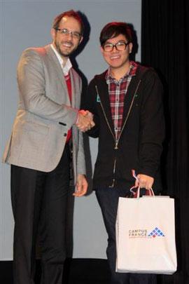 M. Michaël Chung Man Long, 3ème prix du concours