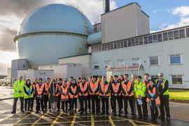 スコットランド、ドンレイの原子力発電所視察 At the Dounreay Nuclear Power Station in Scotland