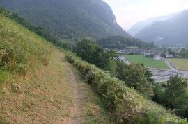 N°17 Le Chemin du Poey devient peu à peu une pelouse.