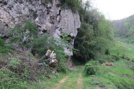 N°15/ La Roche qui Pleure est à nouveau accessible à la promenade.