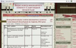 Сайт міського відділу освіти