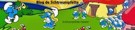 Collection de Schtroumpfs du blog Schtroumpfette
