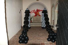 Raumdeko, Party, Kette, Burg, Mr. Balloni
