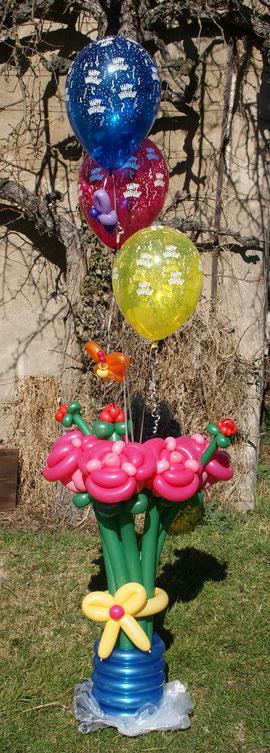 Ballonblumen groß, Geburtstag, Hochzeit, Dekoration, Ballondeko, Mr.balloni ch