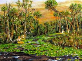 Kayaking in Everglades