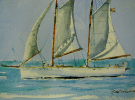sailboat Adirondack II of Key West
