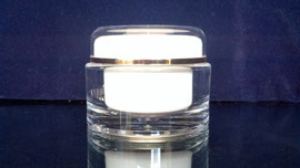 tarro doble fondo 55 para cremas dermatológicas