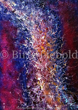"""""""Power of the universe"""" - 50 x 70 cm -"""