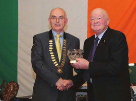 Toom Mulholland St Peters Life aTime Achievement Award