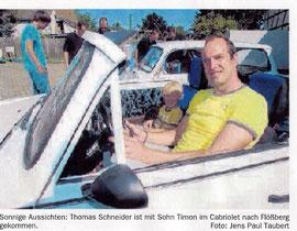 Thomas sein Cabrio