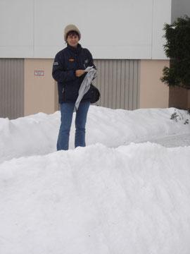 Herta im Schnee