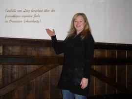 Isabelle von Looz berichtet über ihr freiwilliges soziales Jahr  in Oswiecim (Auschwitz).