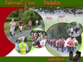 Fahrradtouren und Wandertag