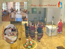 Fusion - Messe und Frühstück