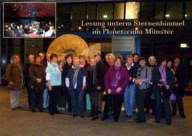 Planetarium Lesung