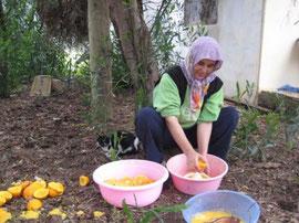 hand made orange marmalade