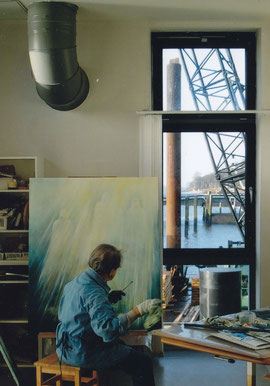 Im Atelier Hamburg