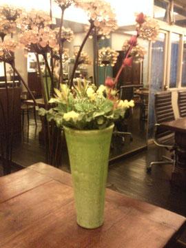 K'S CLUBのお花は今こんな感じです♪