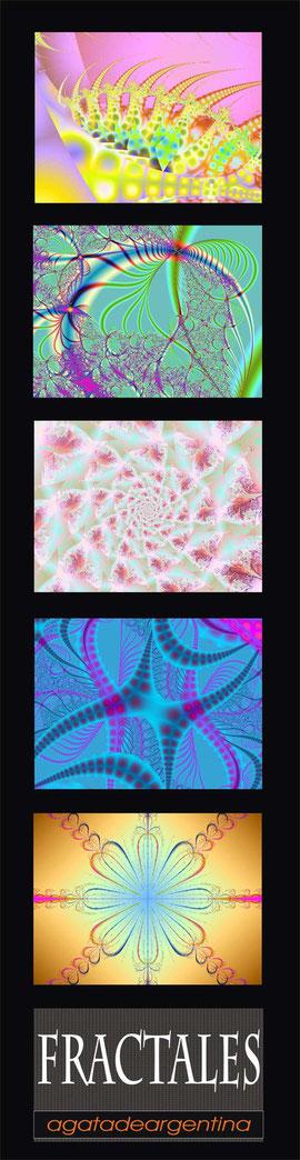 Naturaleza en colores pastel. (30x120cms)