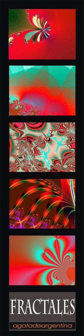 Rojos y Verdes. (30x120cms)