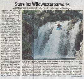 Münsterische Zeitung, 21.09.2006 (Auflage ca. 71.000)