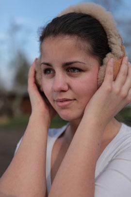 Damit die Ohren immer warm bleiben.